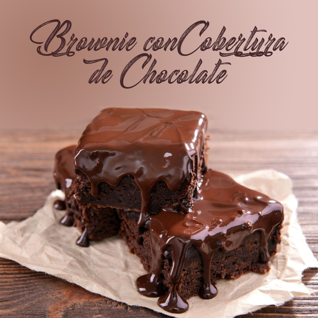 Brownie con cobertura de Chocolate SugarCake